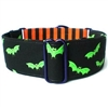 Martingale Dog Collar | Halloween Bats
