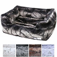 Plush Deluxe Dog Cat Bed