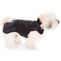 Merino Wool and Leather and Dog Coat