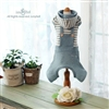 Jazzy Boy Hooded Dog Overalls