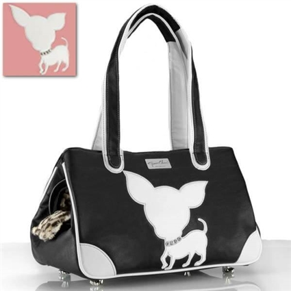 Chihuahua Luxury Dog Purse | Airline Approved