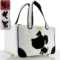 Doggie Style Canvas Dog Tote