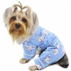 Flannel Dog Pajamas | Snowman
