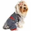 Small Dog Denim Overalls