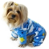 Fleece Dog Pajamas | Stars and Fluffy Clouds