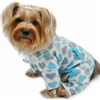 Dog Pajamas | Blue Hearts Fleece