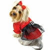 Sparkling Red Small Dog Dress