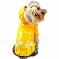 Daisies Dog Raincoat