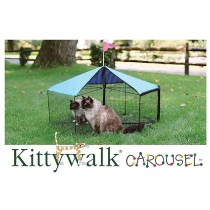 Outdoor Cat Enclosure | Kittywalk Carousel