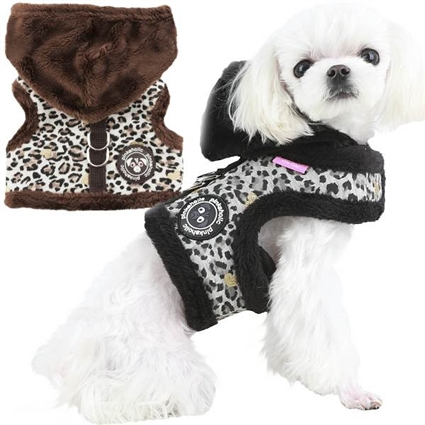 Small Dog Harness | Leopard Print | Pinkaholic