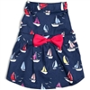 Blue Sailboat Dog Dress