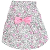 Sweet Pink Flowers Dog Dress