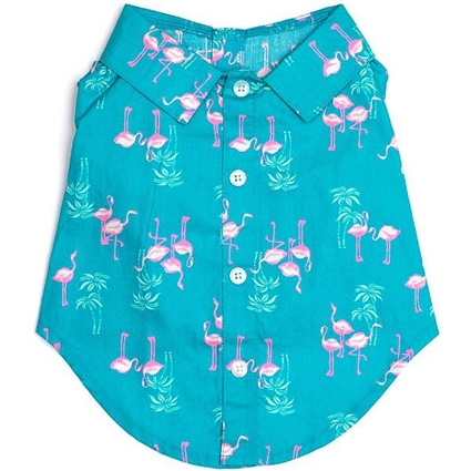 Florida Flamingos Dog Shirt
