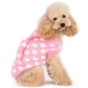 Fuzzy Hearts Pink Designer Dog Sweater
