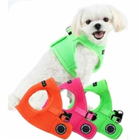 Neon Small Dog Harness | Step-in | Choke free