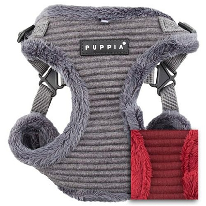Troy Quilted Small Dog Harness | Puppia