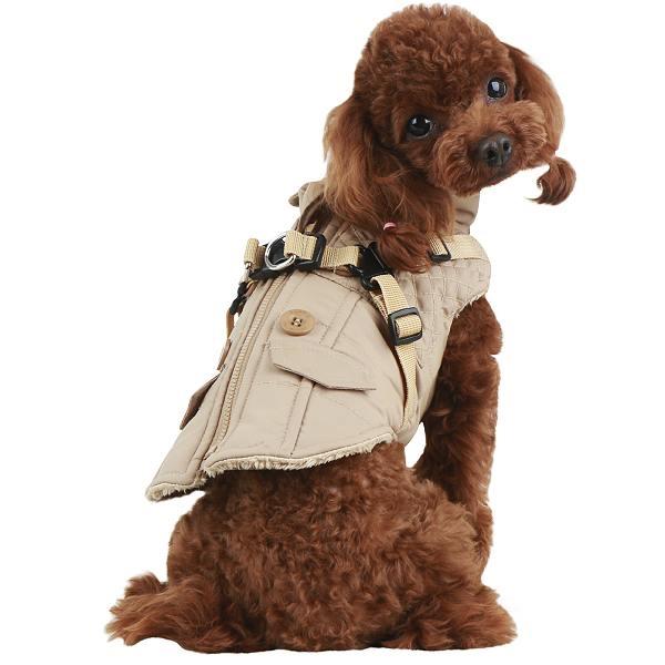 Wilkes Dog Harness Coat | Puppia