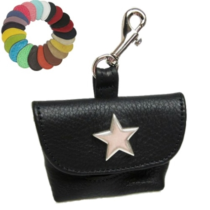 Silver Star Custom Dog Poop Bag Holder
