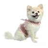 Pink Tweed Dog Harness