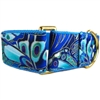 Gilded Butterfly Wings Martingale Greyhound Dog Collar