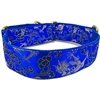 Blue Dragons Martingale Greyhound Dog Collar
