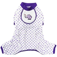 Dog Pajamas | Purple Elephant | Onesies