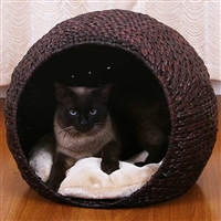 Thermo-Kitty Deluxe Hooded Cat Bed