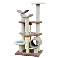 Everest Multilevel Carpet Cat Tree