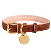 Padded Leather Dog Collar | Bella Rose
