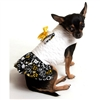White Quilted Designer Dog Coat  | The Doggie Market