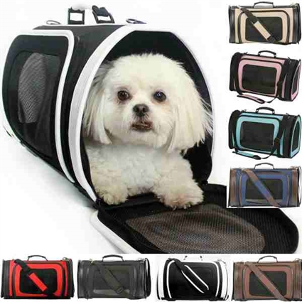 Kelle Designer Dog Cat Carrier | Airline approved
