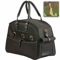 Ariel Bowler Style Designer Dog Carrier | Cat Carrier