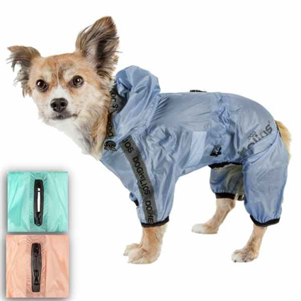 Torrential Shield Dog Raincoat | Full Coverage