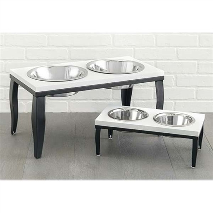Noor Raised Dog Bowl Feeder