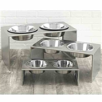 Elevated Dog Bowls | Stainless Steel