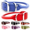 Rolled Leather Dog Collars | Leash