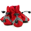 Red Slip On Paws Dog Boots