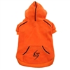 Orange Sporty Dog Hoodies