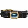 Haute Couture Dog Collar | Black Patent Leather