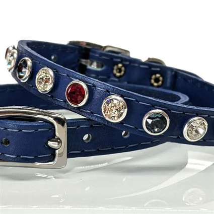 All American Bling Small Dog Cat Collar