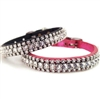 Fancy Diamonds Custom Kitten Collars | Leather