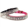 Fancy Diamonds Custom Puppy Collars | Leather