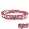 I Heart Cats Bling Collars | Leather| Custom