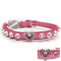 I Heart Cats Bling Collars | Leather | Custom