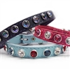 Itty Bitty Puppy Bling Dog Collars | Leather