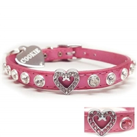 I Heart Dogs Bling Designer Dog Collars | Leather