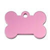 Pink Dog Collar ID Tag | Small Bone