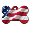 Dog ID Tags | USA Flag | Personalized, Engraved