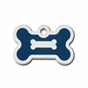 Dog ID Tags | Blue Bone | Personalized, Engraved
