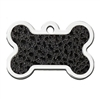Dog ID Tags | Leather Look Bone | Personalized
